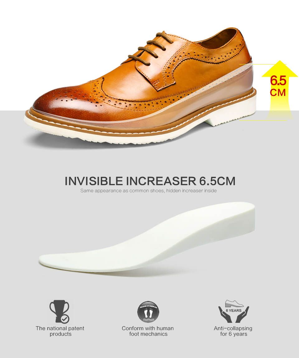 casual elevator shoes for men